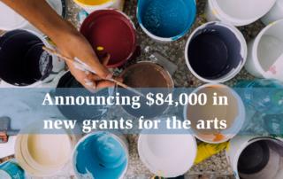 new arts grants